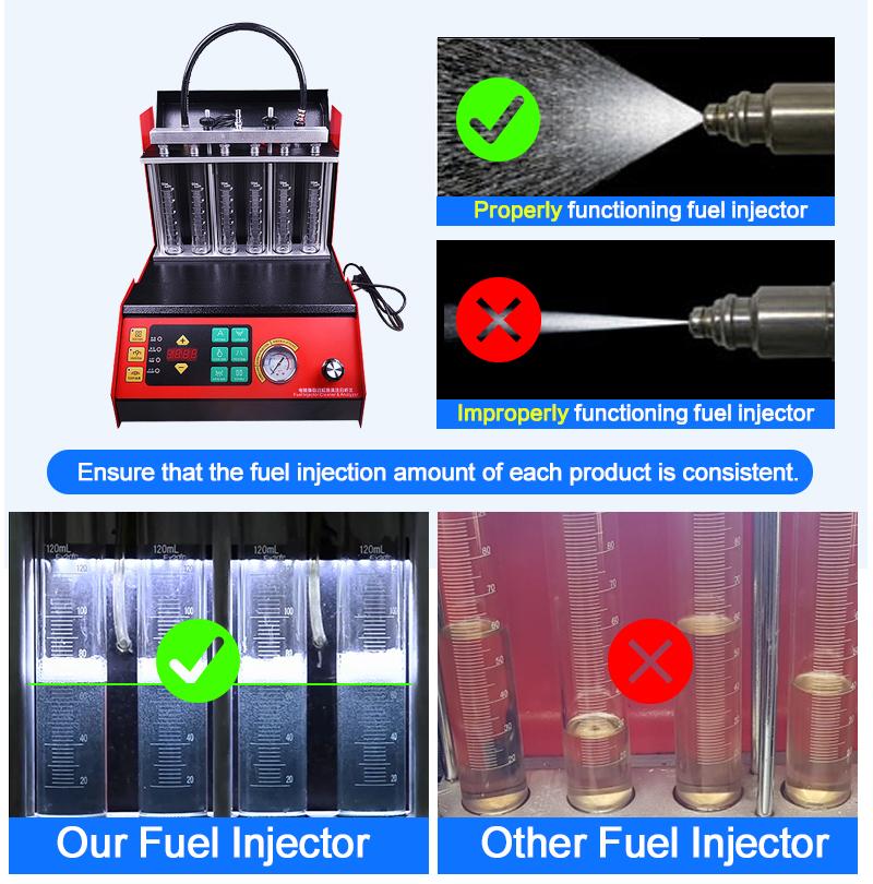 De los inyectores de combustible 380CC 0391511 DE TRABAJO DE 13530391511 para 210BHP MINI R52 R53