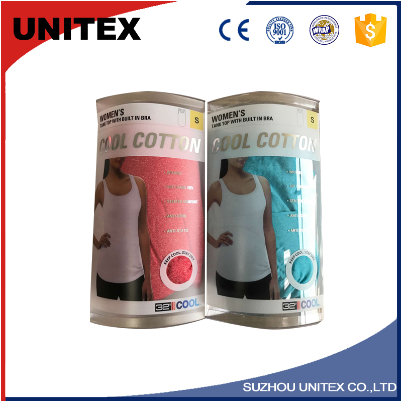 UNITEX Environmental Protection Garment Plastic Packing Bags Resealable Packing Pouch Garment Bags