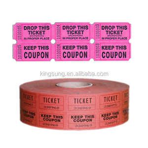 roll coupon ticket