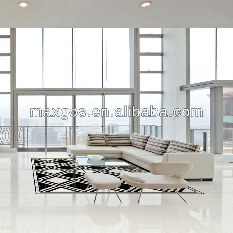 Abstract Space Off White Polished Porcelain Floor Tile 80x80 Buy