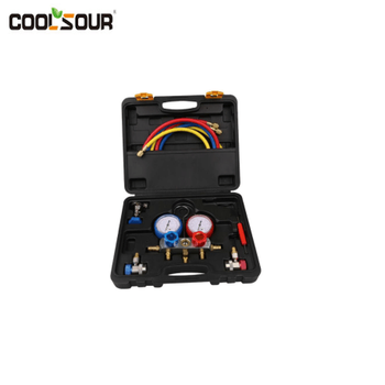 Coolsour Manifold gauge set,Refrigeration Tool