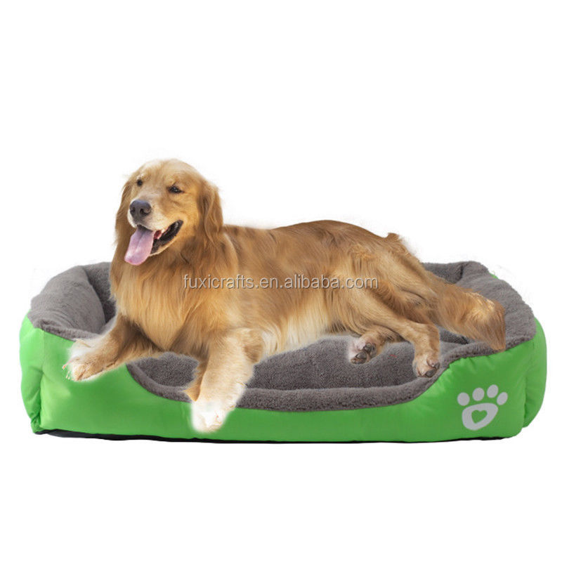 Soft Warm Bed Washable Large Deluxe Fleece Pet cushion Mat for pet