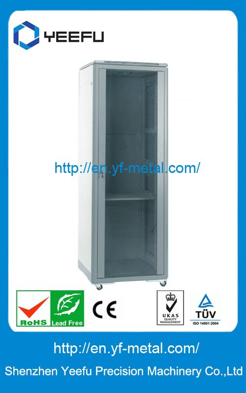Simple installation Network cabinet