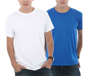 100% Polyester Wholesale Blank T-shirts Men's