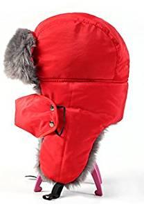 KINGREE Unisex Winter Ear Flap Hat Trooper, Trapper, Hunting Hat Ushanka