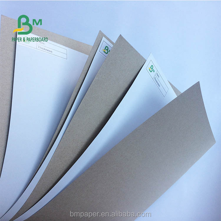 Factory Direct Sales 180gsm 170gsm Coated White Duplex Board for Soft Cover Book
