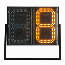 2017 New deisgn led gas price sign large led display digital clock countdown timer