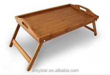 Perfect Bamboo breakfast tray with folding legs bamboo bed sering tray with legs