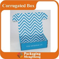 Custom Printing Unique Corrugated Color Mailer Shipping Boxes
