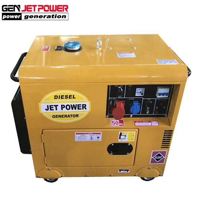 Small Home Use Silent 7 Kva Generator Electric Diesel Cheap Price