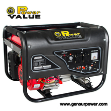 3000 2800w gasoline generator 6.5hp 168f-1 with CE and Soncap Certificate
