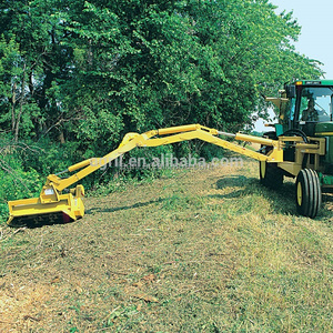 flexible hydraulic telescopic arm side cutting mower slasher with CE best  price