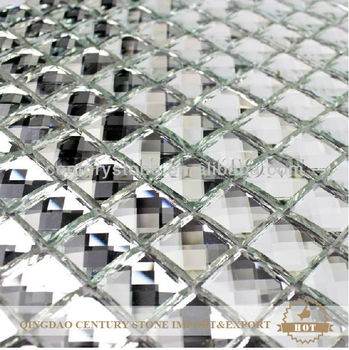 12x12 Glass Mosaic Mirror Tiles For Walls Buy Mirror Tiles For