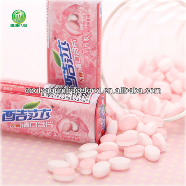 coolsa various fruit flaovrs sugar free mints in tin