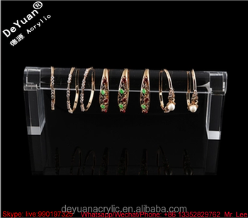 Acrylic Jewelry Display Transparent