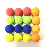 pu foam nerf rival ball bullet for toy gun
