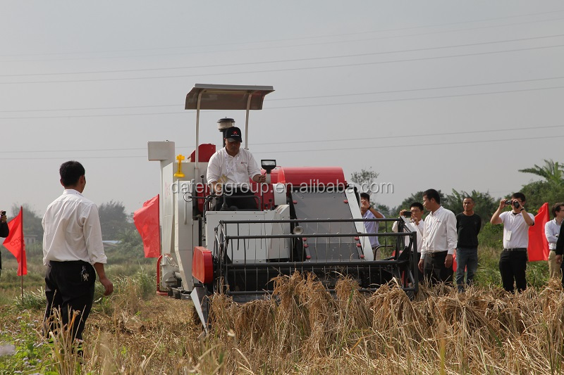 Hot Sale!! Rice and Wheat Grain Combine Harvester