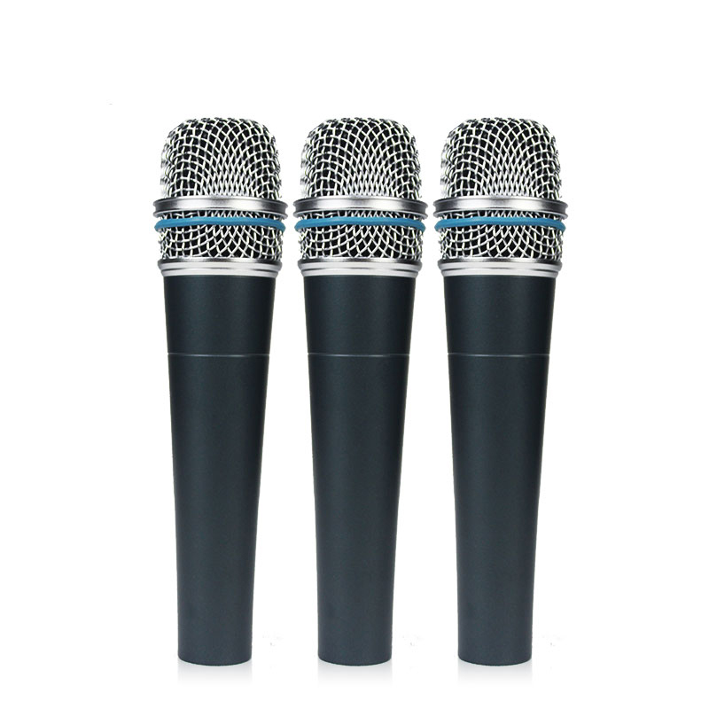 B-57 Musical instrument wired microphone professional wired mic with stand