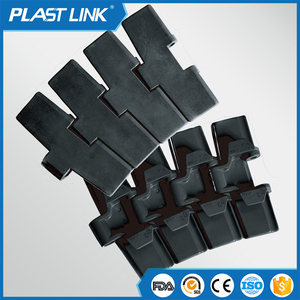 Plastlink conveyor belt 880TAB Anti-static Flex slat top chain for food beverage industry