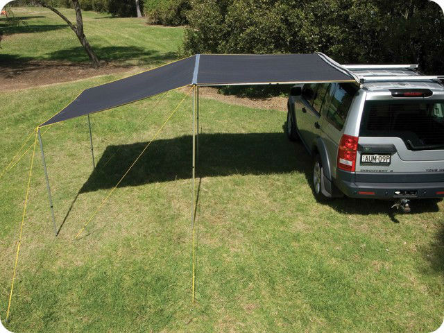 Car Awning 4wd 4x4 Vehicle Camping Side Roof Rack Canvass Waterproof
