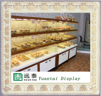 high quality bread kiosk shop mall glass bread display cabinet : bread cabinet display - Cheerinfomania.Com