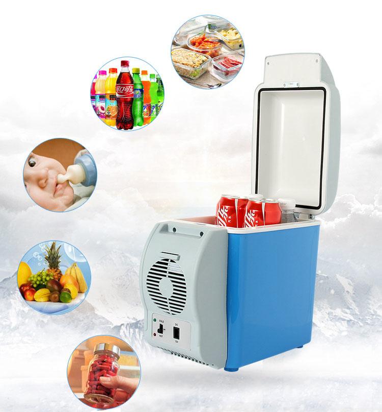 Réfrigérateur pour voiture professionnel, 25 l, glacière pour véhicule, pour maquillage, 12 v, bleu, OEM, 2020 l, 10 l