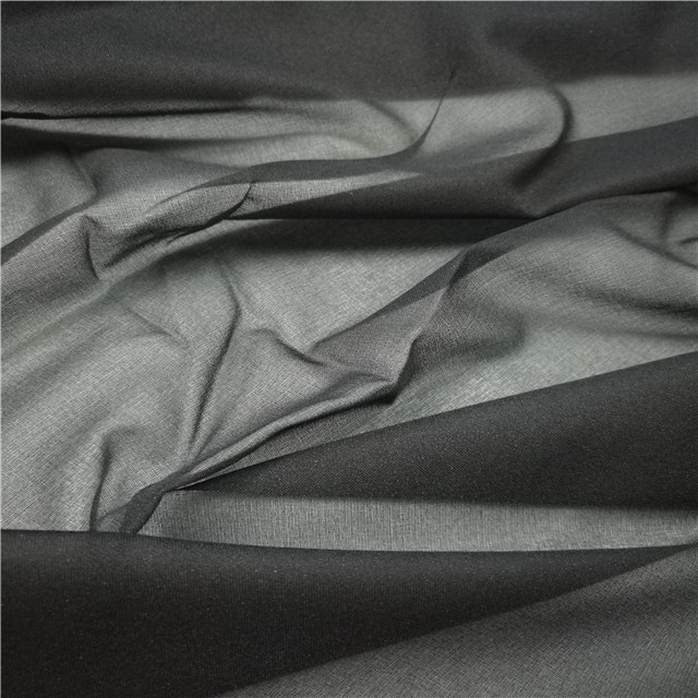 Adhesive woven tailored interlining for jacket