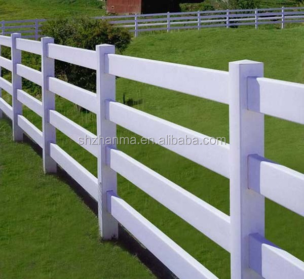 Temporary Orportable Fencing 4 Rail Pvc Horse Fences Buy