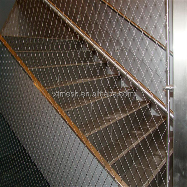 For Stairs Fencing Stainless Steel flexible metal mesh netting