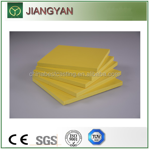 colorful pvc foam board for printing engraving cutting sawing