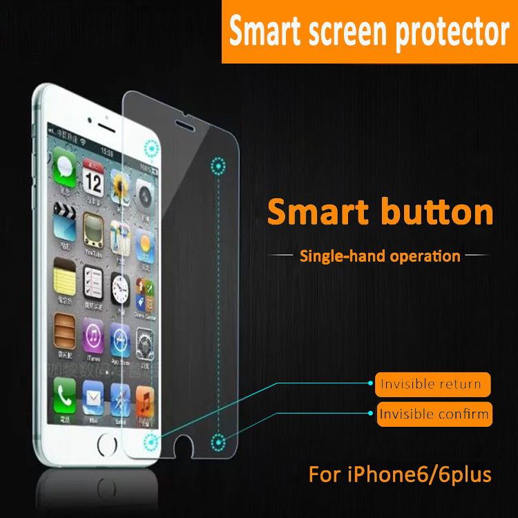 Iphone Smart Button Screen Protector