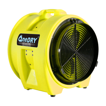 Portable 400mm carpet drying blower plastic exhaust ...