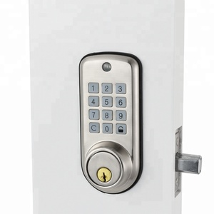 Cheap Electronic Door Lock Keypad Smart Digital Deadbolt Lock in Zinc Alloy Material