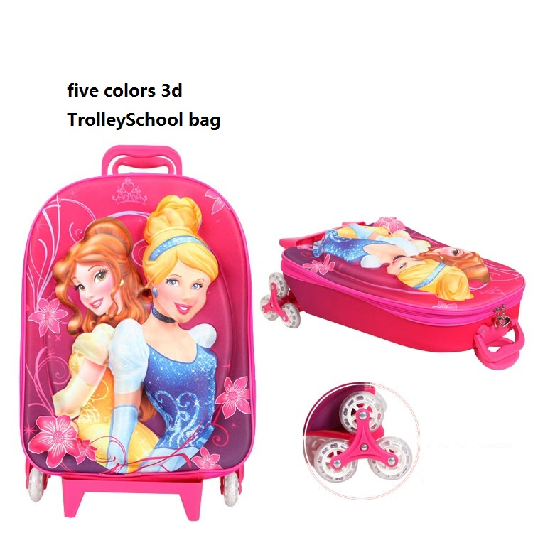Buy 3d school bags for girls hello kitty school bags children school bags  with wheels girls orthopedic sholuder backpacks schoolbag in Cheap Price on  ... 6d594861fe030