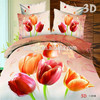 New 3 Piece Double Size 3D Effect Printed Bedding Sets