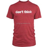 Mens 50 Polyester 25 Cotton 25 Rayon Tri Blend T Shirts