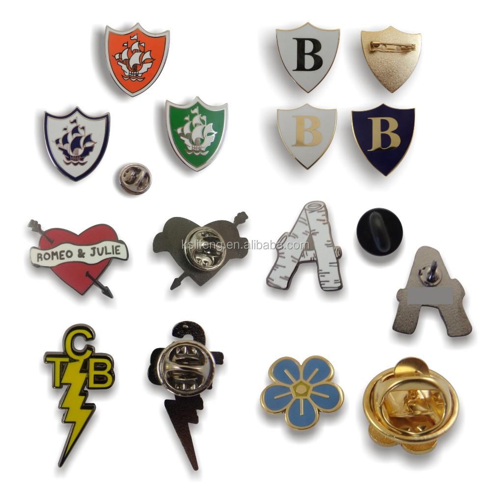 Custom Fly Bird Design Badges Matel Lapel Pins Cartoon