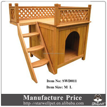 Wholesale Cheap outdoor unique wooden dog kennel