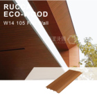 Foshan Rucca Wood Plastic Composite Cladding Wall Panel, PVC Fire Retardant Wall Panels Exterior Wall Panel Outdoor Siding