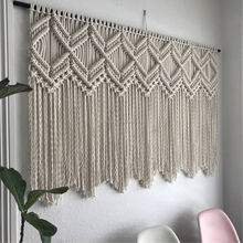 Sized and color customized Handmade braided Macrame,_Weaving _tapestry wall hanging