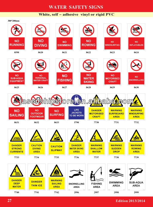 Water Safety Sign Imo Symbols Buy Imo Symbolwater Safety Sign