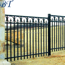 Wholesale factory price Artwork Wrought Iron fence/Balcony Railing&Fence
