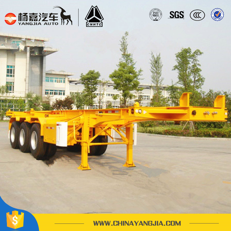 20FT-48FT Aluminum Alloy Container Chassis skeleton semi trailer