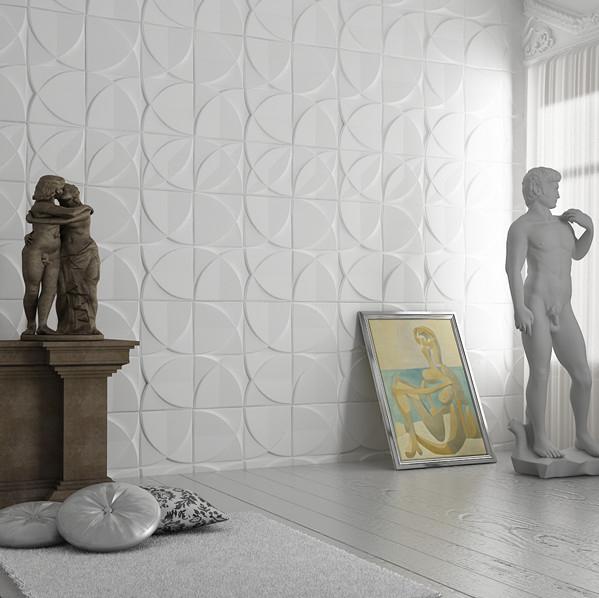 Bricolage moderne d coration murale 3d papier peint pour for Decoration interieure papier peint