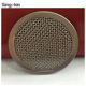 Long using life sintered 40 mesh 430 stainless steel 304 wire mesh filter disc magnetic fabric