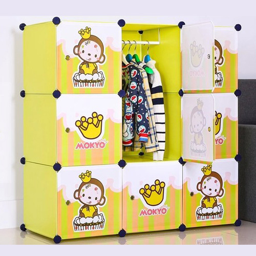 Cabinet Design For Clothes For Kids kids cartoon wardrobe baby storage organizer clothes cabinet(fh