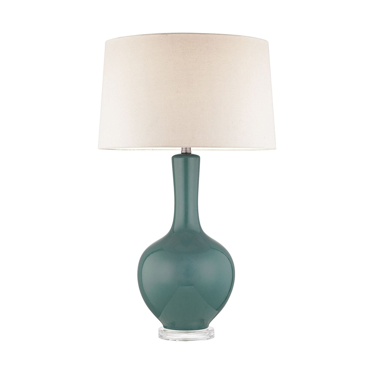 Get Quotations Dimond Lighting D2929T Judith Table Lamp In Teal By Colorfabulouslighting Efns290262570718587