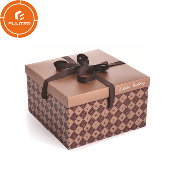 Biodegradable packaging for cake boxes cardboard/cupcake container/clear plastic cake box packaging