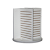 cosmetic floor standing slatwall display units retail display units