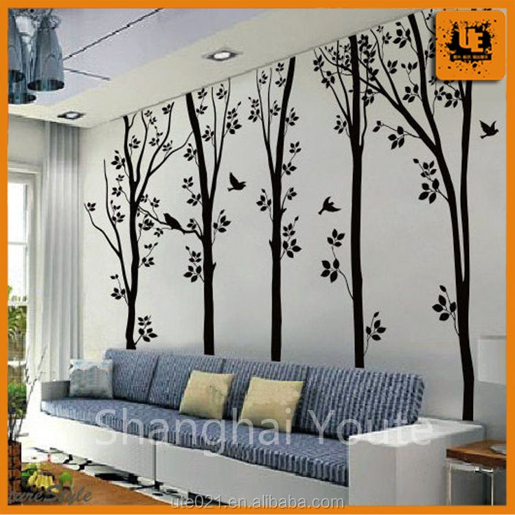 Decoration die cut wall decal,chalkboard decal with good quality
